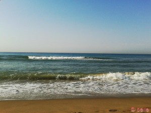 Strand von Castelldefels