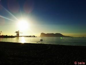 Sonnenaufgang in Palmones