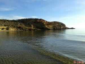Linke Seite der Bucht