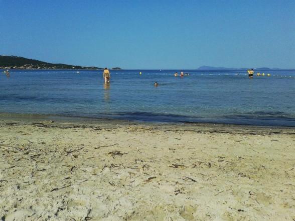 Strand von Hyéres
