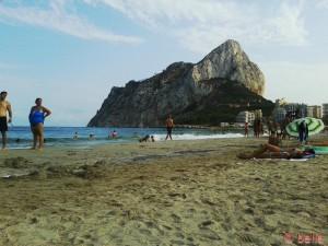Strand von Calpe