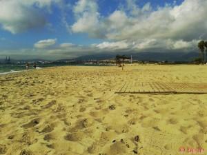 Strand von Palmones