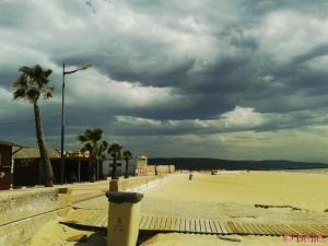 Gewitter in Barbate