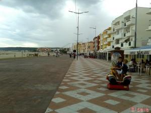 Promenade am Strand von Barbate