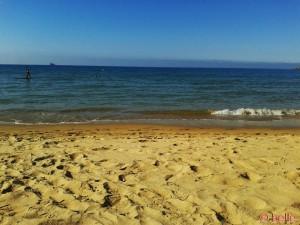 Strand von Barbate - Flut