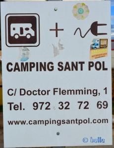 Area Sosta Camper Ronda Narcís Massanas, 15, 17220 Sant Feliu de Guíxols, Girona, Spanien.
