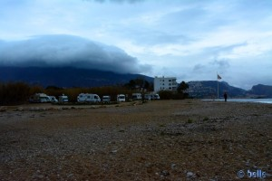 Parking in Altea – Cap Negret – 2015