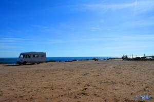 Parking at the Beach of Santa Pola 2015