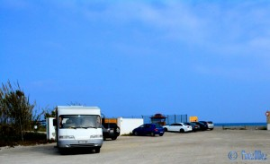 Parking in Málaga - Parador de Málaga Golf, Autovía A7 Málaga - Algeciras, Km. 231, 29004 Málaga, Spanien