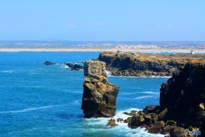 Parking in Papoa - Peniche - Reserva Natural das Berlengas, Portugal – Mai 2015