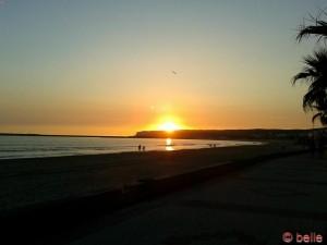 Sonnenuntergang in Barbate