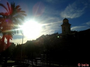 Sonne in Genua
