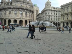 Am Piazza de Ferrari