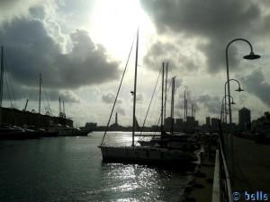 Segelboot zur Sonne...
