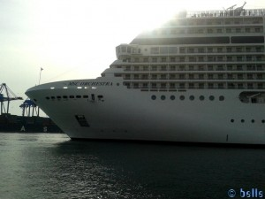MSC Orchestra in Genua