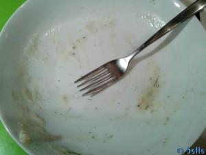Spaghetti mit Lachs-Porree-Bechamel-Sahnesosse á belle