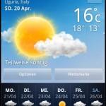 Wetter-Prognose für Genua