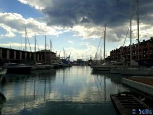 Porto Antico Genua - an der Galeone Neptun