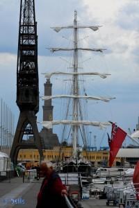 Segelboot & Leuchtturm