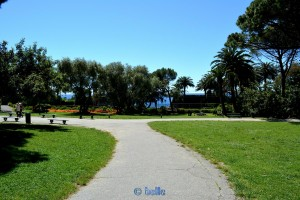 Der Park in Nervi