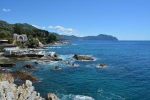 Aussicht nach Portofino