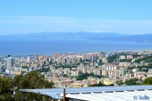Teil von Genua - Blick auf Savona