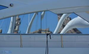 Spiegelbild an der Isola delle Chiatte
