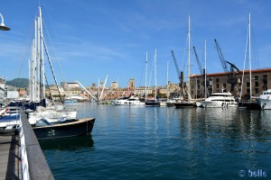 Porto Antico - von der Isola delle Chiatte