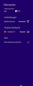 Vodafone-Stick in Vigna - nur GPRS