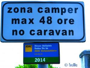 Italy - Stellplatz Montiglio