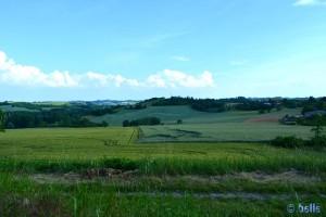 Italy - Stellplatz Montiglio - Aussicht nach Süd