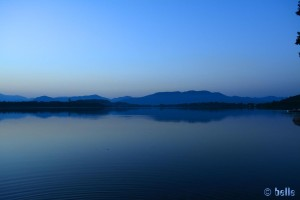 Interessante Lichtverhältnisse am Lago di Comabbio