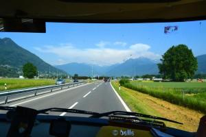 Kurz vor der Schweiz