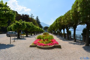 Park-Strasse in Bellagio