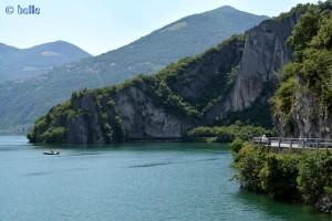Wunderschöne Bucht am Nordende des Lago D'Iseo
