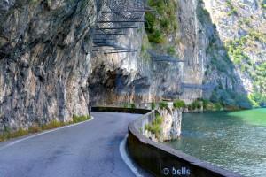 Abenteuerliche Strassen rund um den Lago D'Iseo