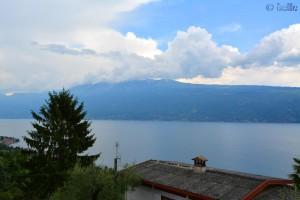 Aussicht von Zuino auf den Gardasee – 244m