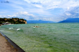 Rückweg zum Castello Sirmione am Lago di Garda