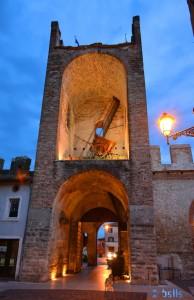 Eingang zur Altstadt Soave (von innen)