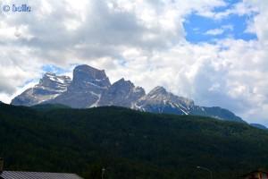 Aussicht bei Borca di Cadore