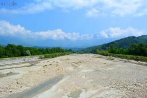 Torrente Tesa – bei Schneeschmelze sicher ein reissender Fluss!
