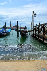 Gondel im Canal Grande Venezia