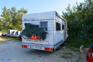 Parking at Lago di Spina