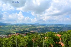 Aussicht von San Marino