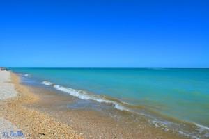 Beach of Marotta – wie man sieht, ist fast nichts los hier.