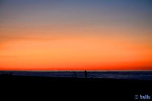 Sonnenuntergang in Marotta