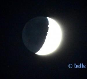 ...und der Mond ist es auch!
