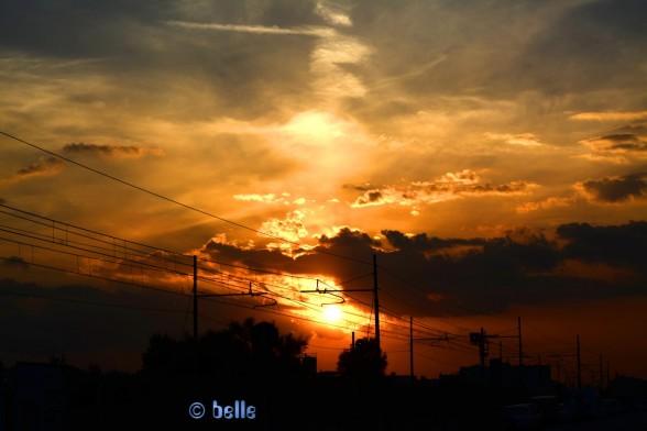 Sunset Marotta - 20:25 Uhr