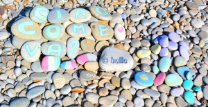 Kunst am Strand von Fossacesia von ©Emma – Photo by ©belle