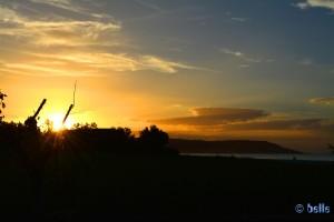Sonnenuntergang in Fossacesia